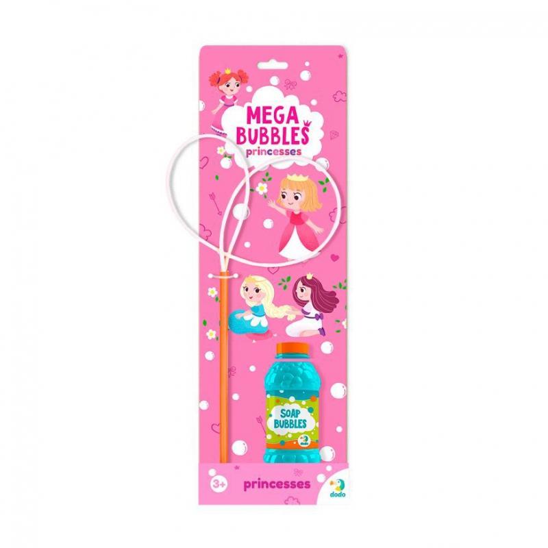 """Мыльные пузыри Mega Bubbles Принцессы 450 мл 300245 купить в магазине """"Пустун"""""""