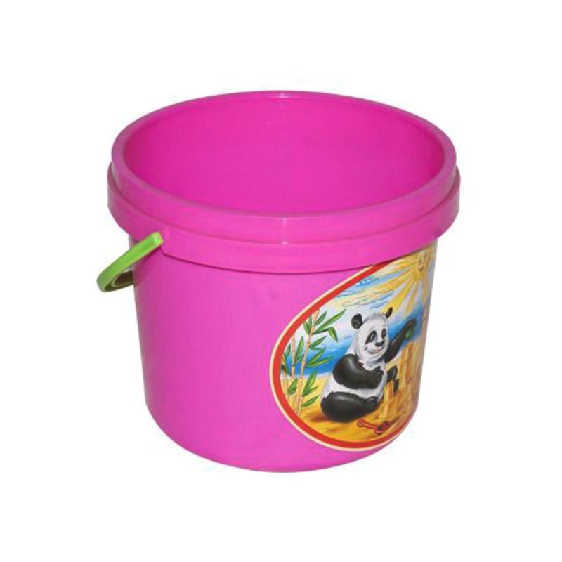 """Ведёрко для песка розовый 0521 купить в магазине """"Пустун"""""""