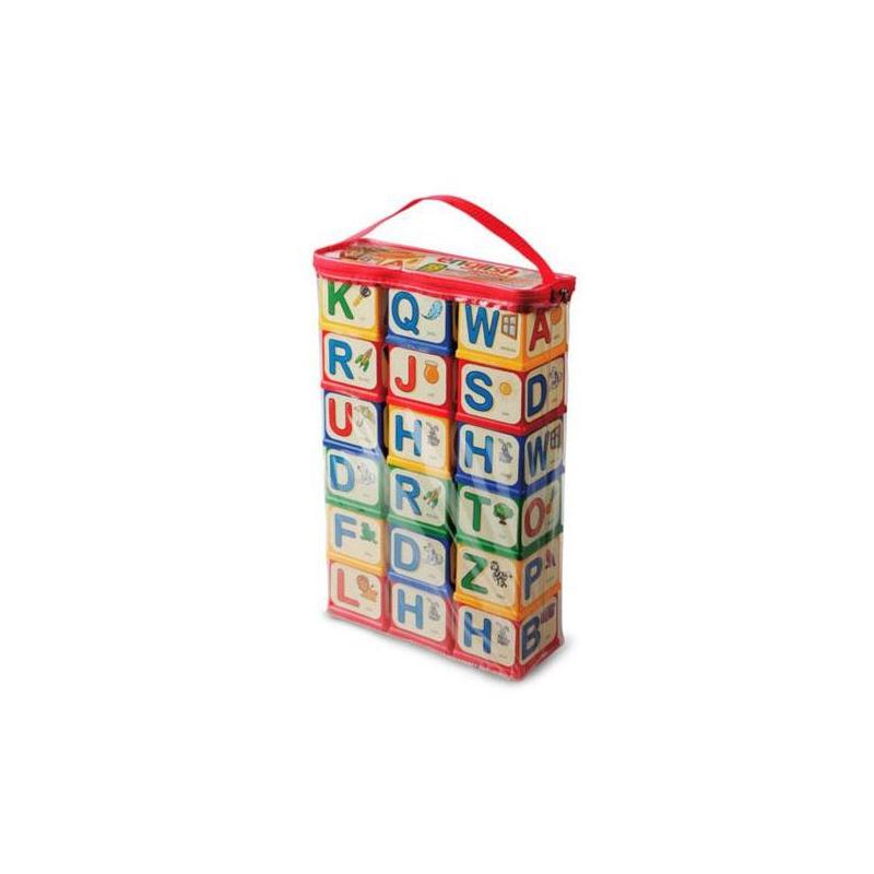 """Кубики English Alphabet 18 шт купить в магазине """"Пустун"""""""