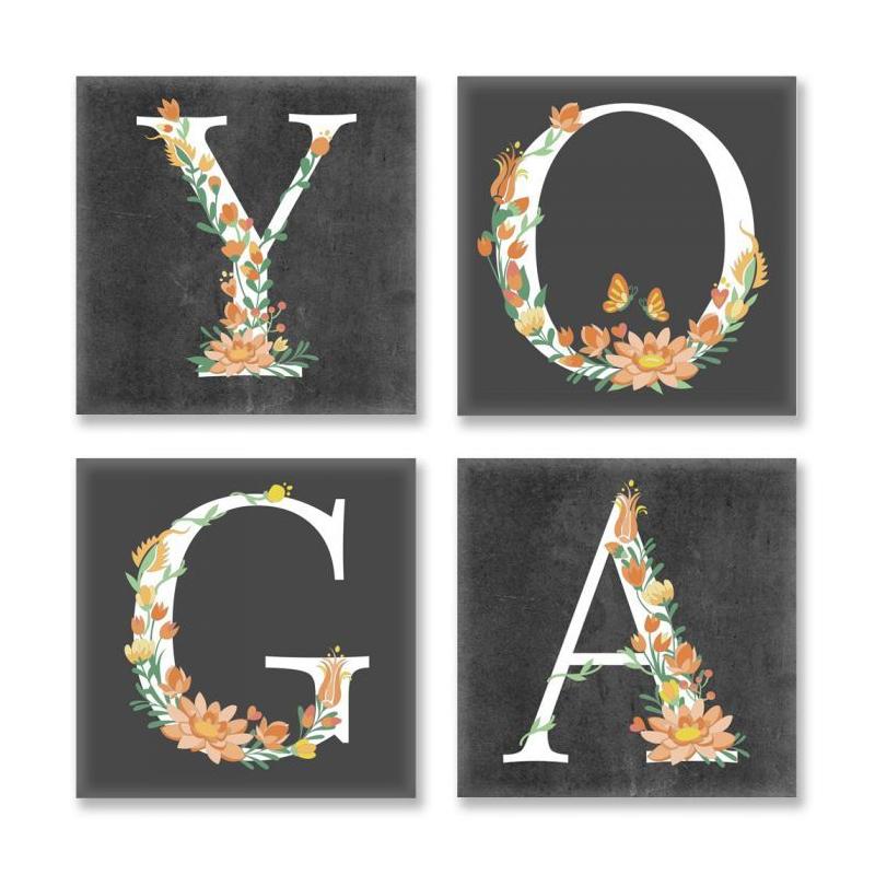 """Картина по номерам """"YOGA, лофт"""" ★★★ СН118 купить в магазине """"Пустун"""""""