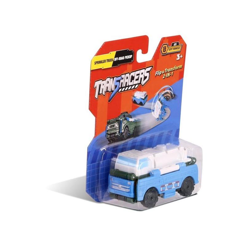 """Машинка трансформер 2 в 1 """"Trans Racers"""", автоцистерна и пикап внедорожник YW463875-13 купить в магазине """"Пустун"""""""