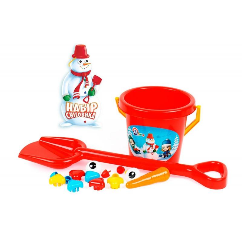 """Набор для снеговика 6498 купить в магазине """"Пустун"""""""