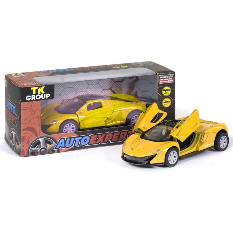 "Машинка металлопластик Lamborghini Huracan, желтый S25099 купить в магазине ""Пустун"""