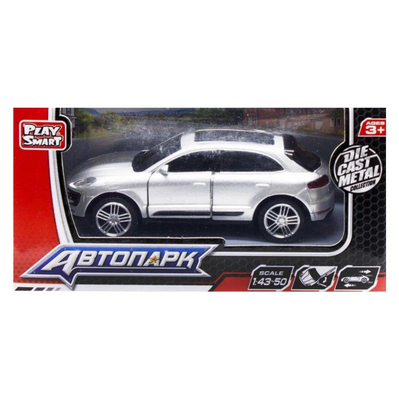 """Машина металлопластик Porsche Cayenne, серый 6527W купить в магазине """"Пустун"""""""