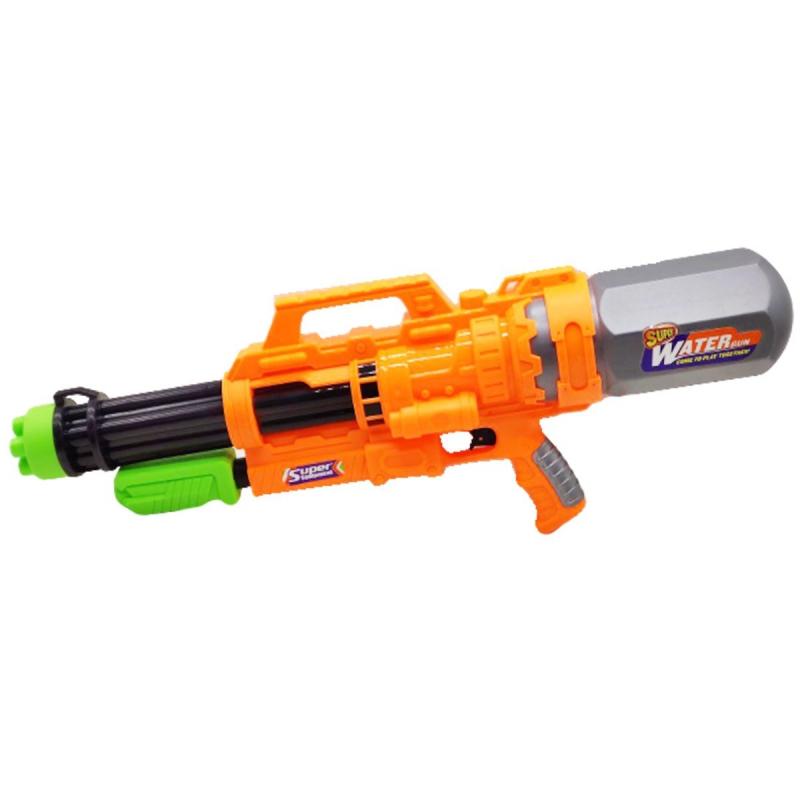 """Водный пистолет Water Gun, 60 см, оранжевый YS367 купить в магазине """"Пустун"""""""