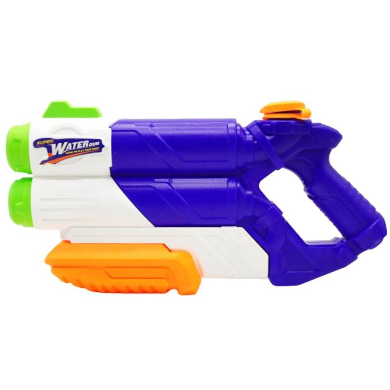 """Водный пистолет Water Attack, 38 см, синий YS358 купить в магазине """"Пустун"""""""