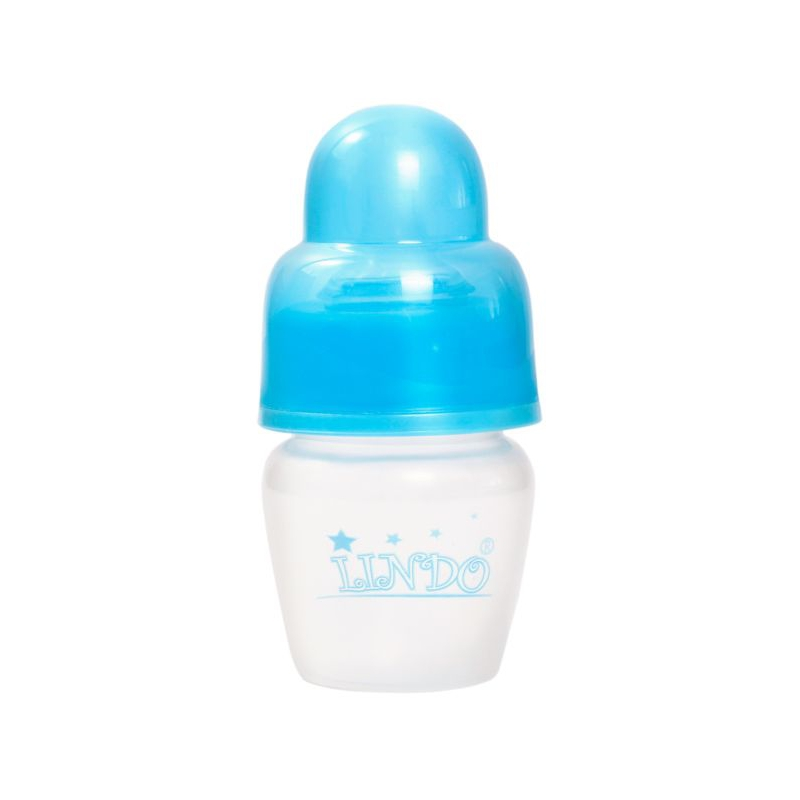 """Бутылочка для кормления, 40 мл, 0 месяцев, синий LI  100 купить в магазине """"Пустун"""""""