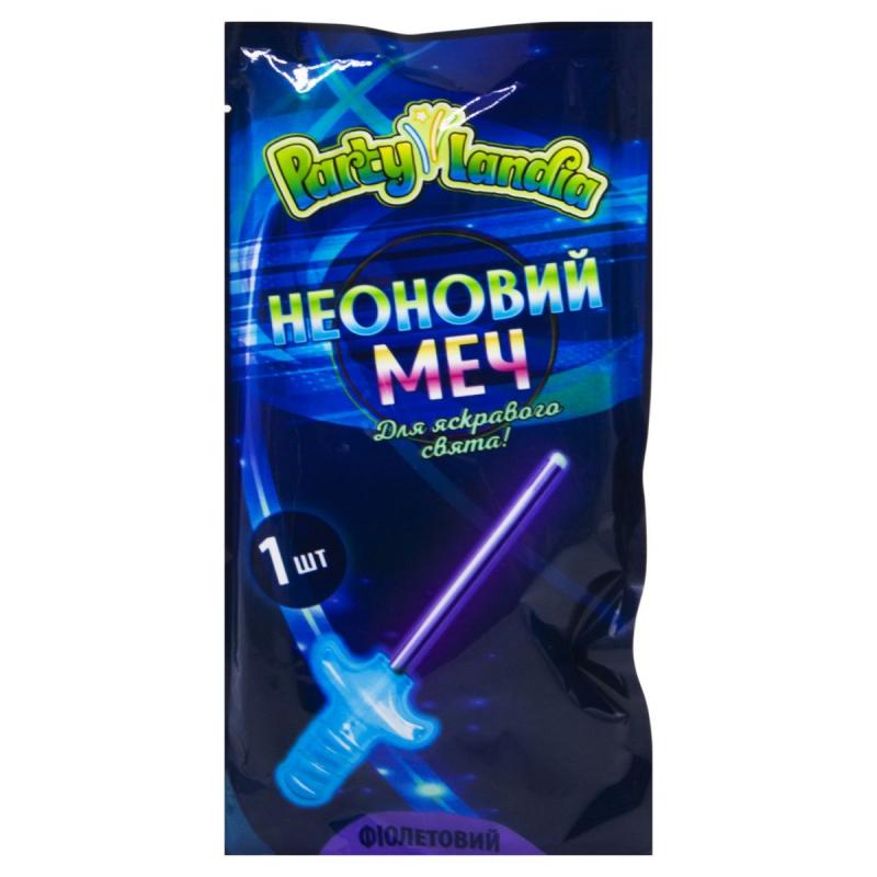 """Неоновый меч, фиолетовый PL117 купить в магазине """"Пустун"""""""