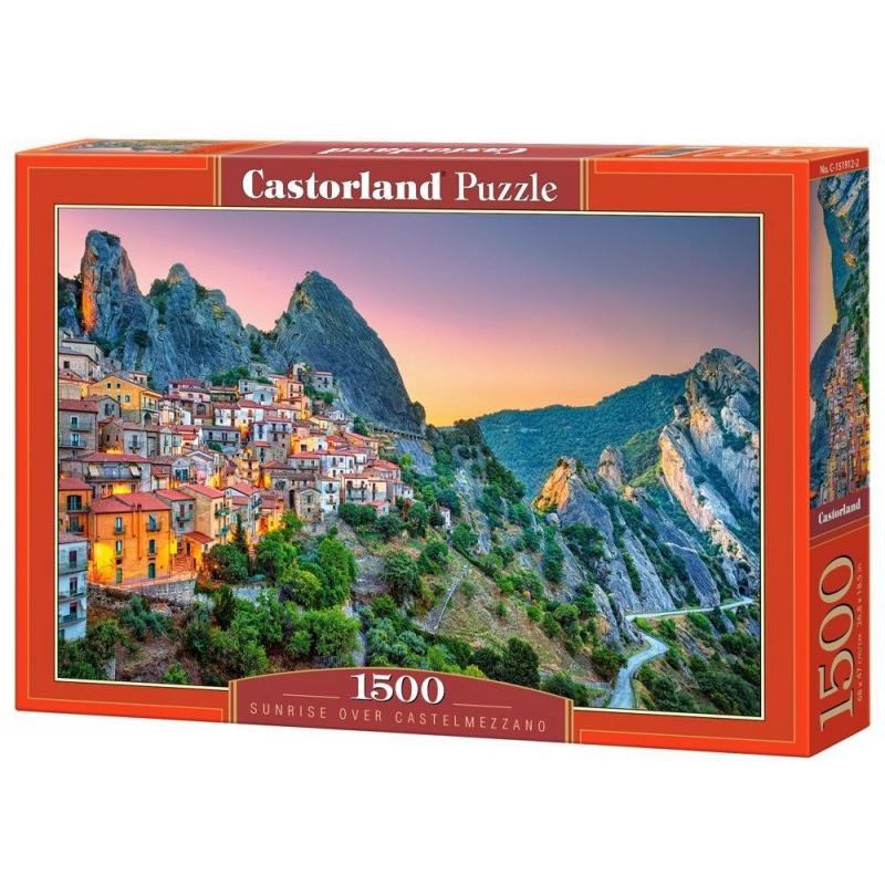 "Пазлы Восход солнца над Кастельмеццано 1500 элементы C-151912 купить в магазине ""Пустун"""