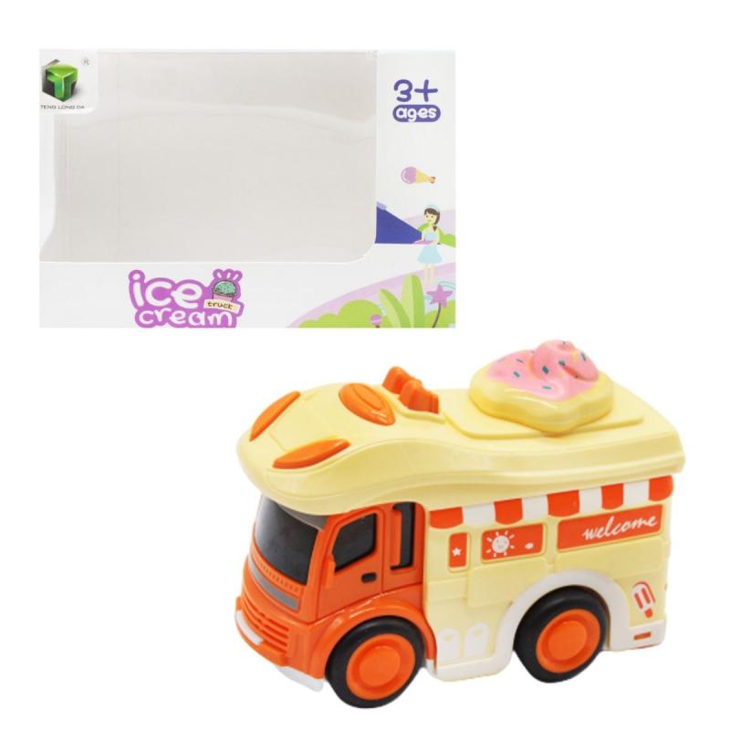 """Машинка """"Мороженое"""", орнажевый 2618 купить в магазине """"Пустун"""""""