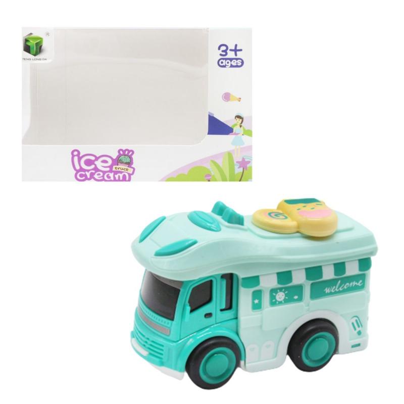 """Машинка """"Мороженое"""", бирюзовый 2618 купить в магазине """"Пустун"""""""