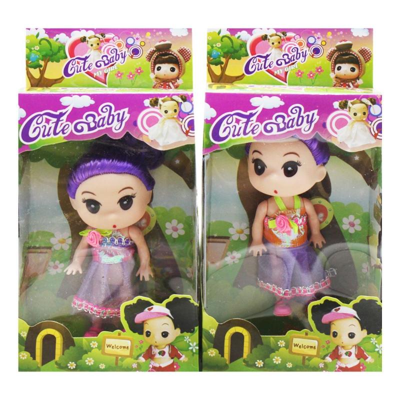 "Лялька, розмір 9 см(фиолетовая) 567 купить в магазине ""Пустун"""