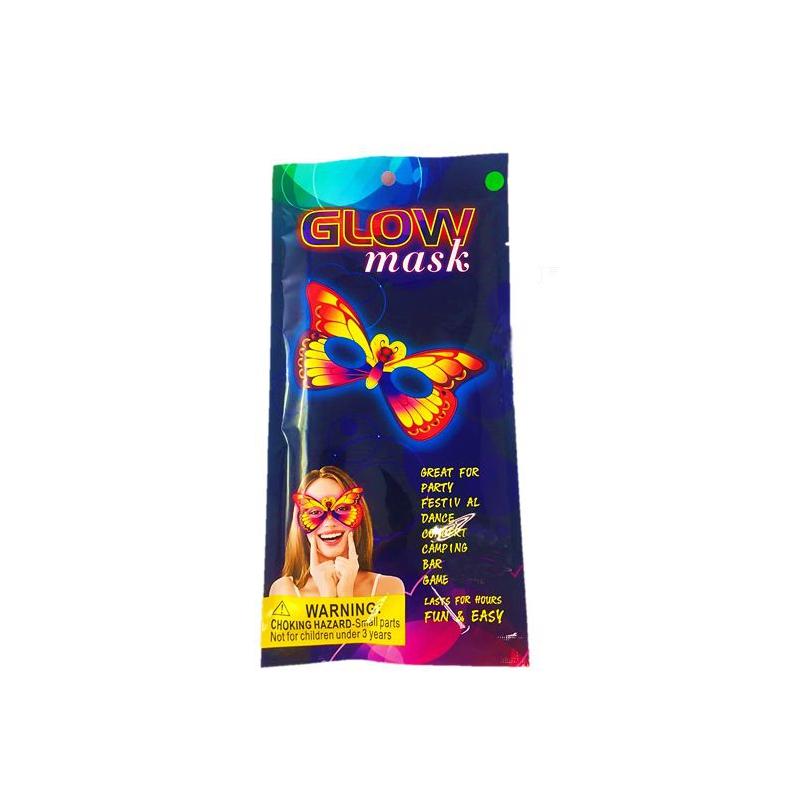 """Неоновая маска """"Glow Mask: Бабочка"""" GlowMask4 купить в магазине """"Пустун"""""""