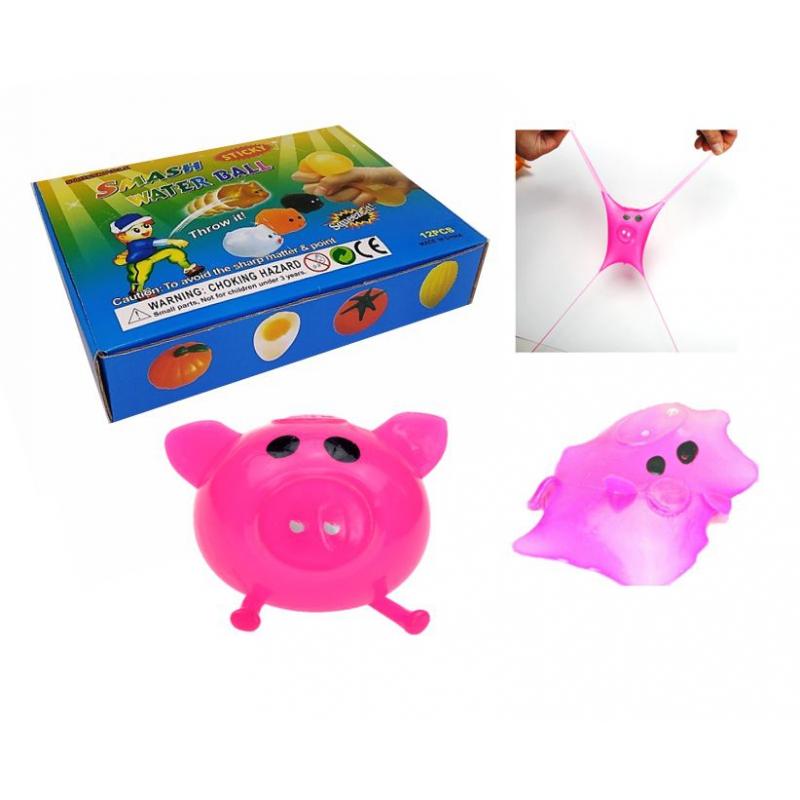 """Набор антистресс игрушек """"Свинка"""", 12 штук MLpiggy6 купить в магазине """"Пустун"""""""