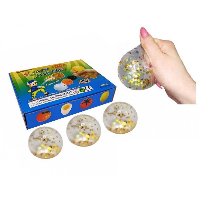 """Набор антистресс игрушек """"Мячик со звёздочками"""", 12 штук MLstar6 купить в магазине """"Пустун"""""""