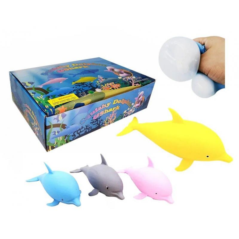 """Набор антистресс игрушек """"Дельфин"""", 12 штук IAdolphin18 купить в магазине """"Пустун"""""""