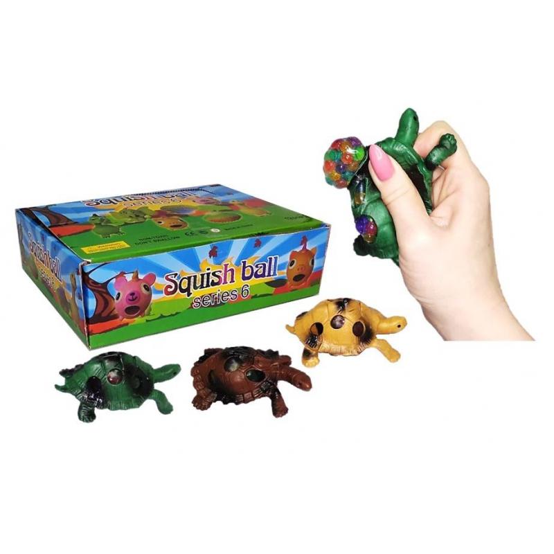 """Набор антистресс игрушек """"Черепашка с орбизами"""", 24 штуки IAturtle8 купить в магазине """"Пустун"""""""