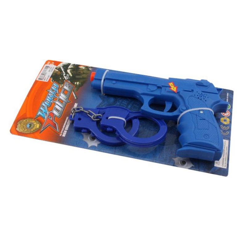 """88876       [255-7] Полицейский набор 255-7 батар.муз.свет.лист 31*16 /144/ купить в магазине """"Пустун"""""""