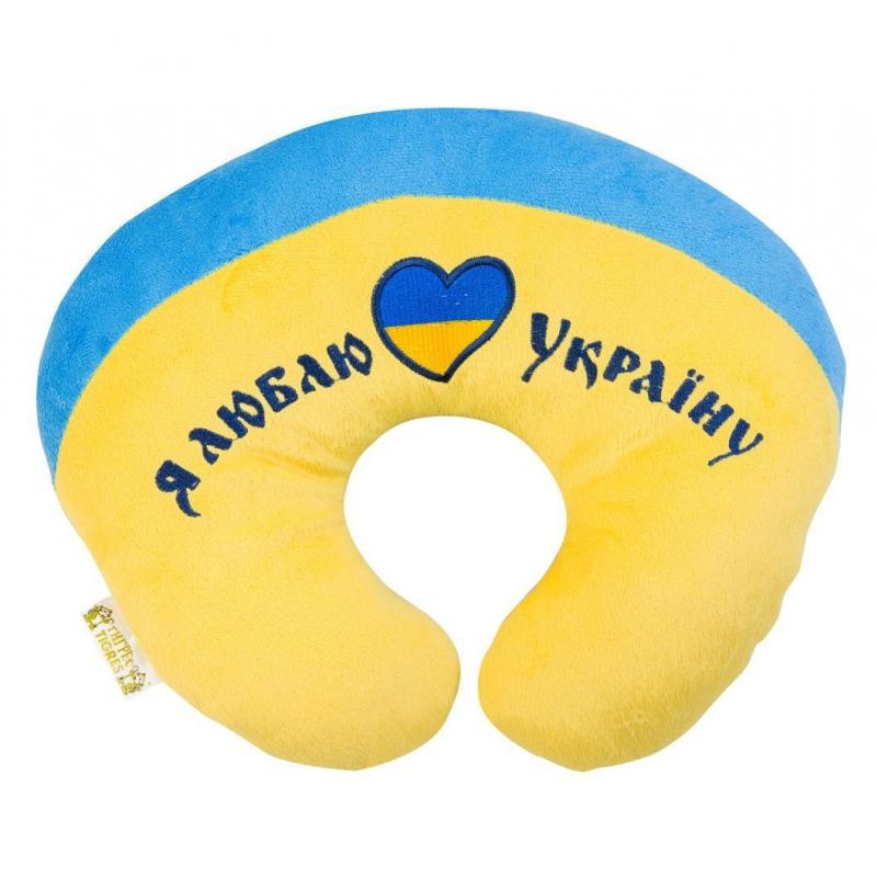 "U подушка TIGRES I love Ukraine (ПД-0122) купить в магазине ""Пустун"""