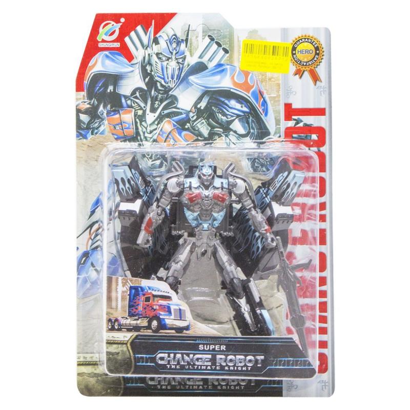 """Трансформер """"Change Robot"""", серый 39-15 купить в магазине """"Пустун"""""""
