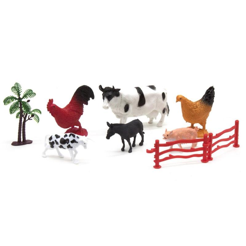 """Домашние животные """"Farm Animal"""", с коровой 2090 купить в магазине """"Пустун"""""""