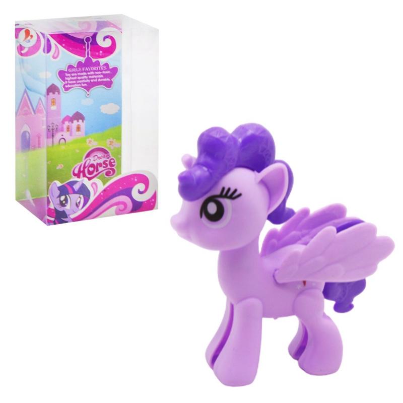 """Пони единорог """"Dream Horse"""" (фиолетовый) SD628/29/30 купить в магазине """"Пустун"""""""