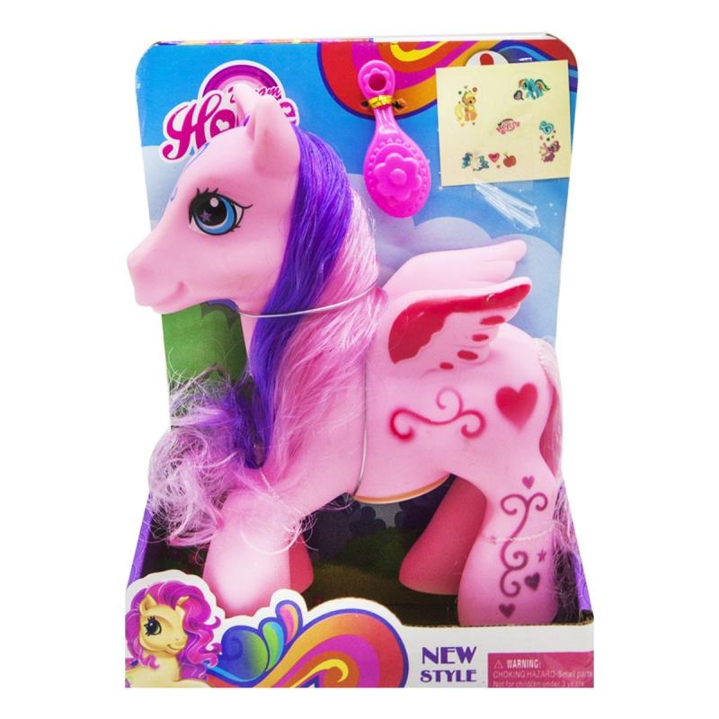 """Пони с крыльями, музыкальный (розовый) HBQ70 купить в магазине """"Пустун"""""""