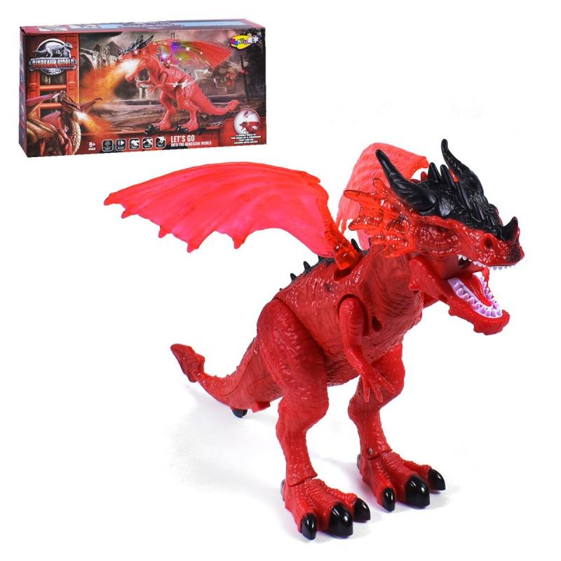 """Дракон """"Dinosaur World"""", красный NY027B купить в магазине """"Пустун"""""""