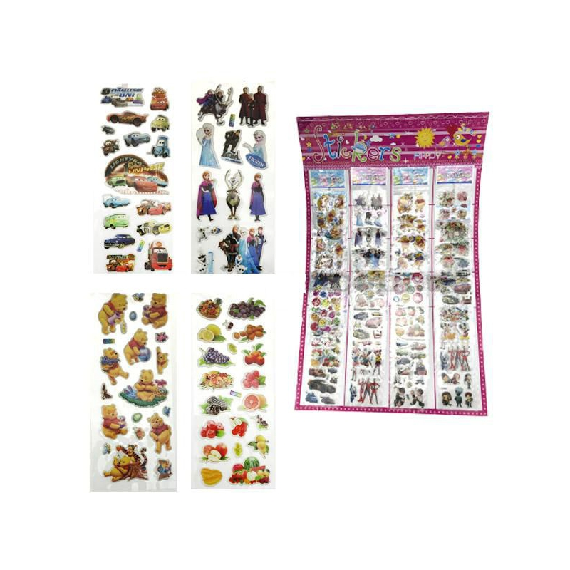 """Наклейки """"Happy Stickers"""" в ассортименте PR1637 купить в магазине """"Пустун"""""""