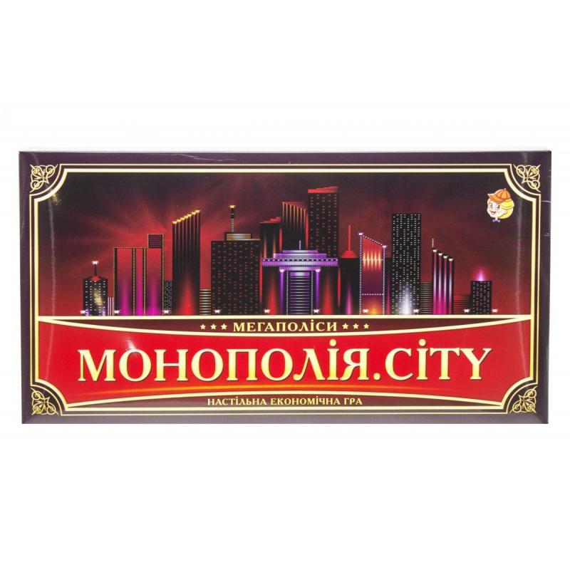 """Настольная игра """"Монополия. CITY"""" 21137 купить в магазине """"Пустун"""""""