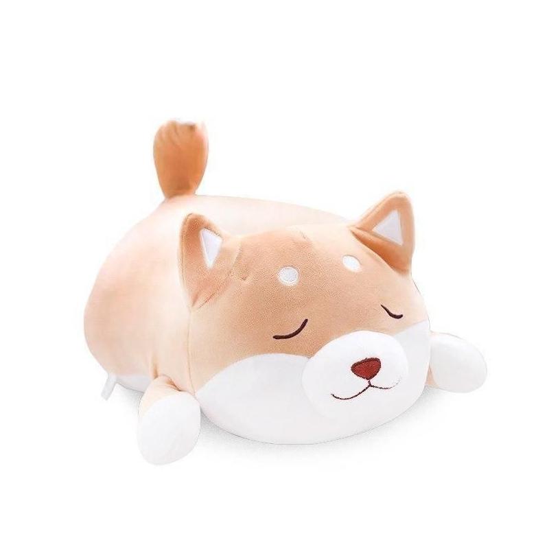 """Плюшевая игрушка Сиба-ину спящий (50 см) купить в магазине """"Пустун"""""""