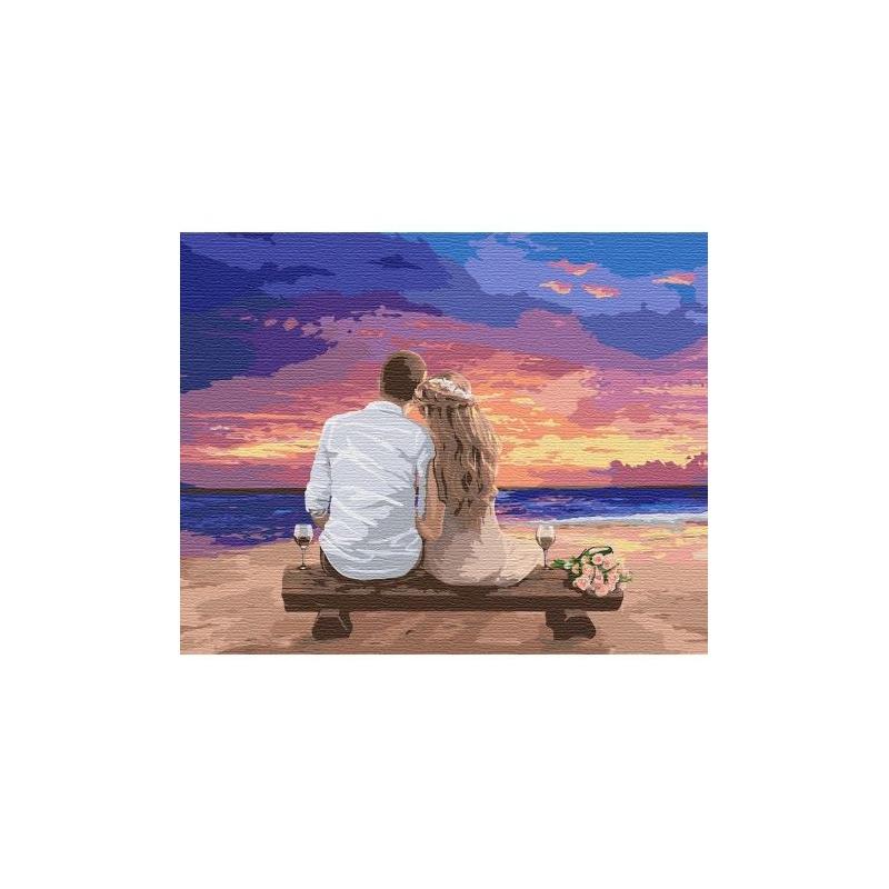 """Картина по номерам """"Люби меня"""" ★★★ КНО4740 купить в магазине """"Пустун"""""""