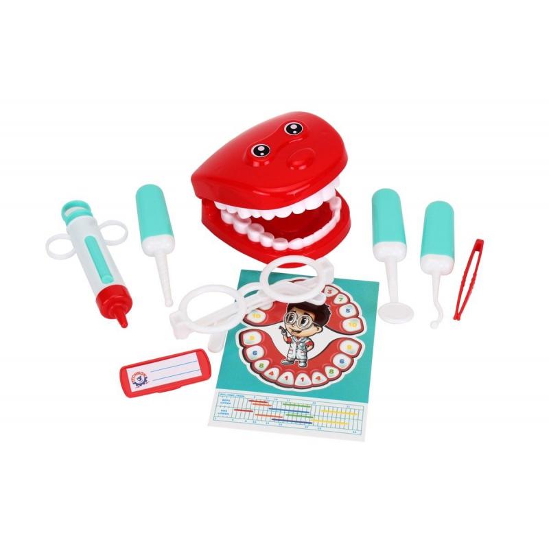 """Набор стоматолога """"Dentist"""", 9 деталей 6641 купить в магазине """"Пустун"""""""