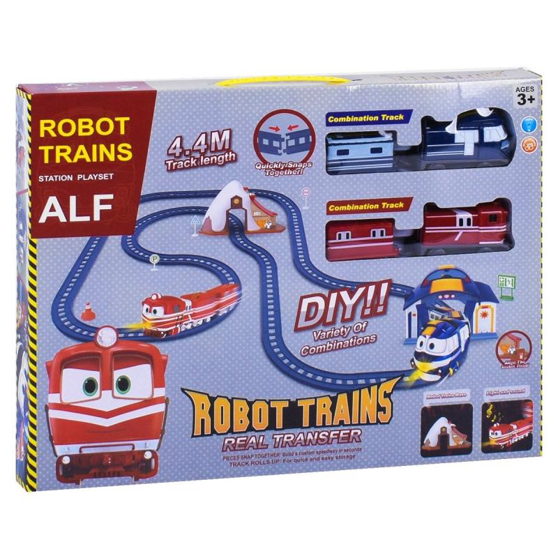 """Железная дорога """"Robot Trains"""" PT3004 купить в магазине """"Пустун"""""""