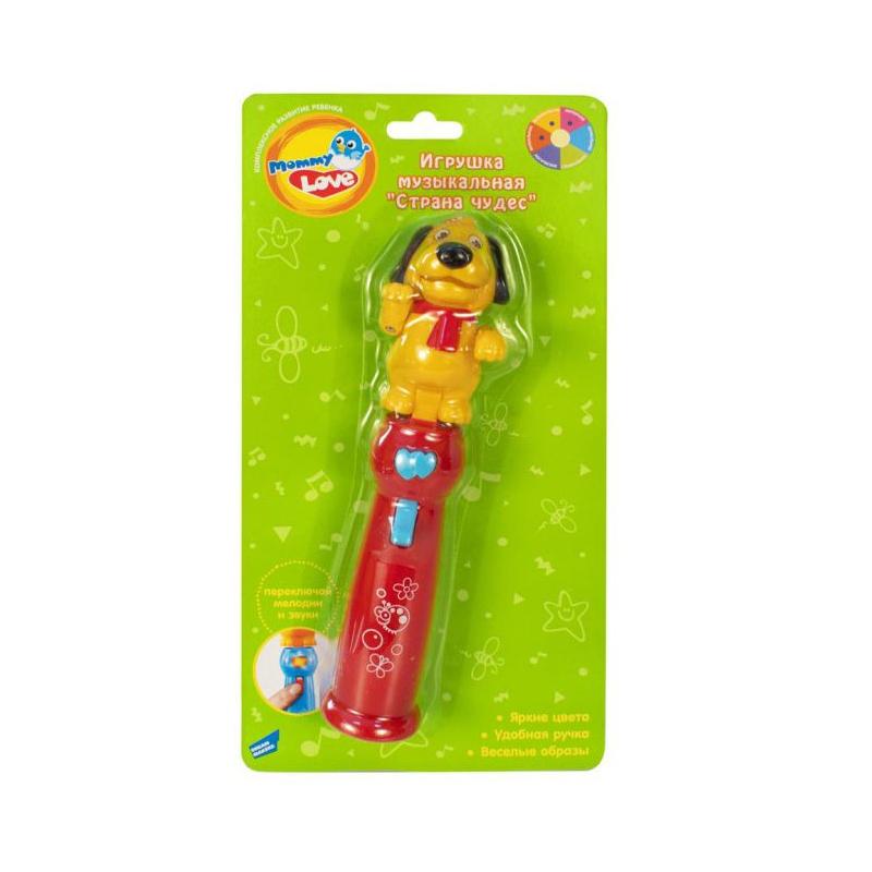 """Музыкальная игрушка """"Страна чудес"""", красный 102-1 купить в магазине """"Пустун"""""""