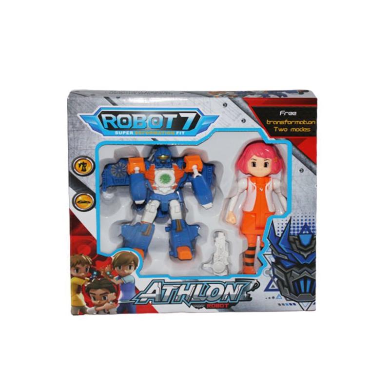 """Трансформер """"Athlon Robot"""", вид 8 Q1916 купить в магазине """"Пустун"""""""