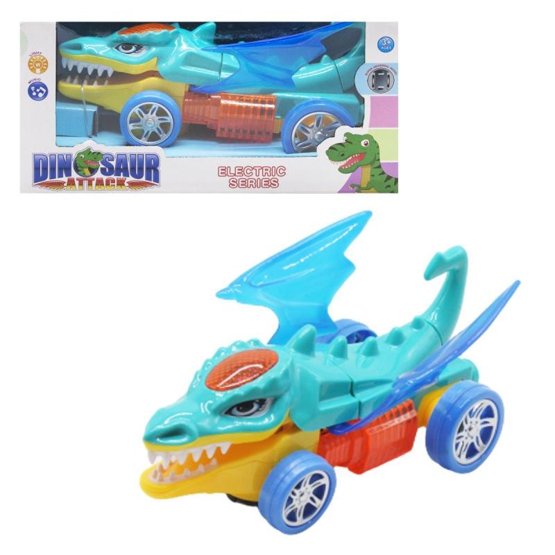 """Машина-крокодил, бирюзовый YX002 купить в магазине """"Пустун"""""""