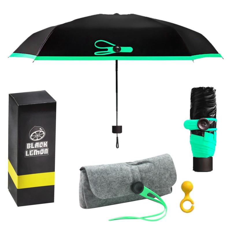 """Карманный мини-зонтик, мятный EL-525 купить в магазине """"Пустун"""""""