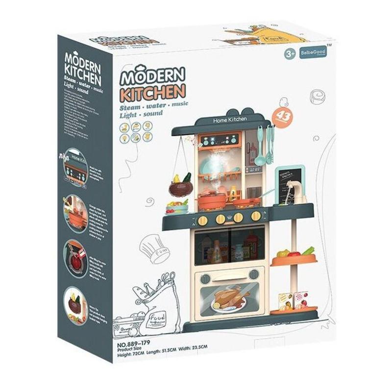 """Игровой набор """"Modern kitchen"""", серая 889-179 купить в магазине """"Пустун"""""""