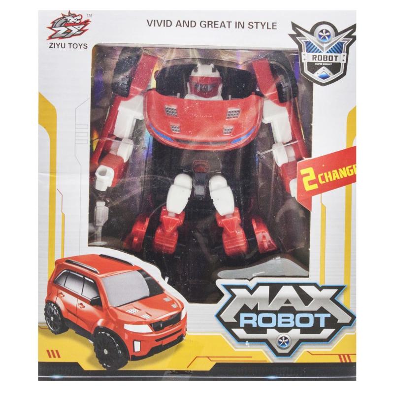 """Трансформер """"Max Robot"""", красный L015-35 купить в магазине """"Пустун"""""""