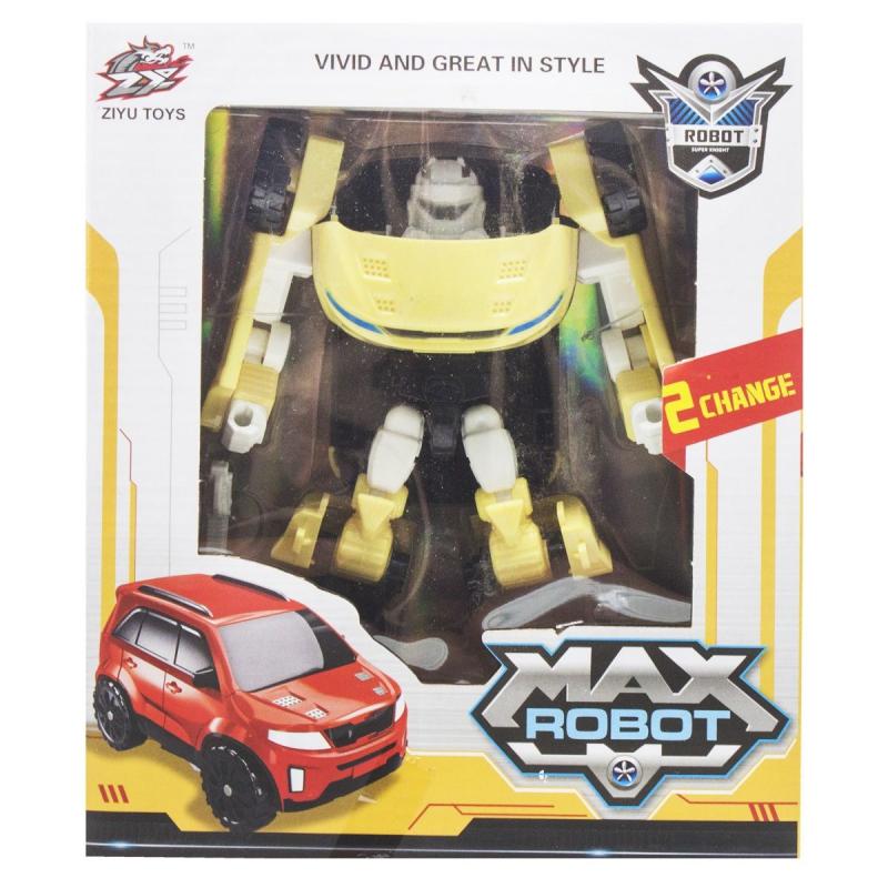 """Трансформер """"Max Robot"""", желтый L015-35 купить в магазине """"Пустун"""""""