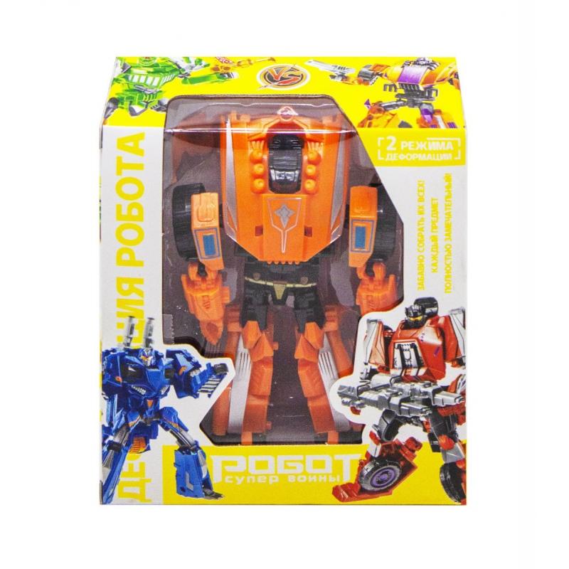 """Робот-трансформер, оранжевый 1983C купить в магазине """"Пустун"""""""