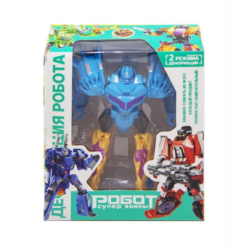 """Робот-трансформер, голубой 1983C купить в магазине """"Пустун"""""""