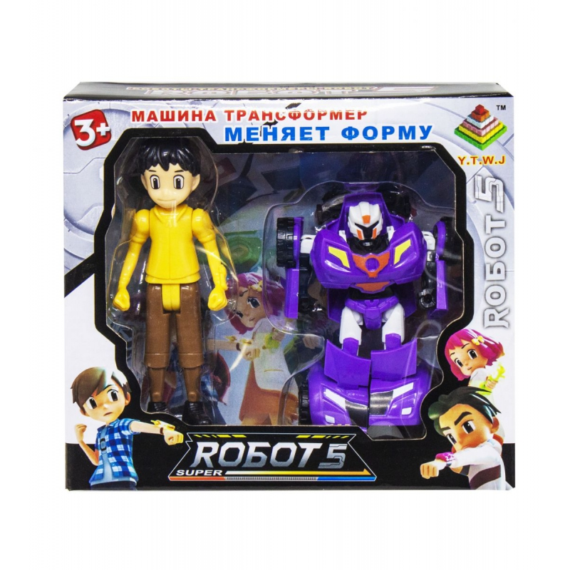 """Трансформер """"Robots"""" вид 2 339-17 купить в магазине """"Пустун"""""""