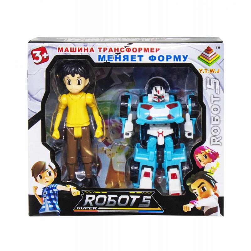 """Трансформер """"Robots"""" вид 4 339-17 купить в магазине """"Пустун"""""""