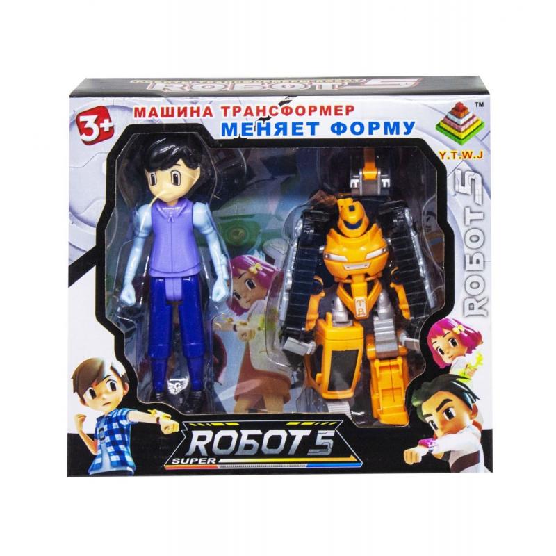 """Трансформер """"Robots"""" вид 8 339-17 купить в магазине """"Пустун"""""""