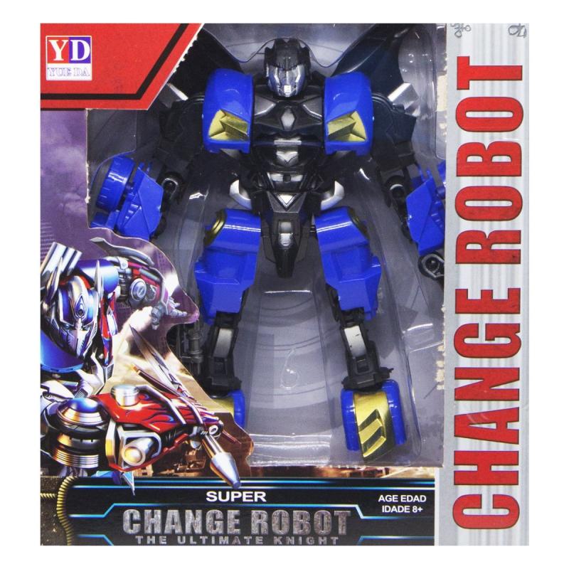 """Трансформер """"Change robot"""", синий YD-31 купить в магазине """"Пустун"""""""