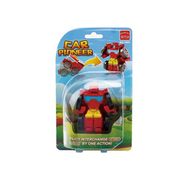 """Машинка """"Мини  робот"""" (красный) 1001 купить в магазине """"Пустун"""""""