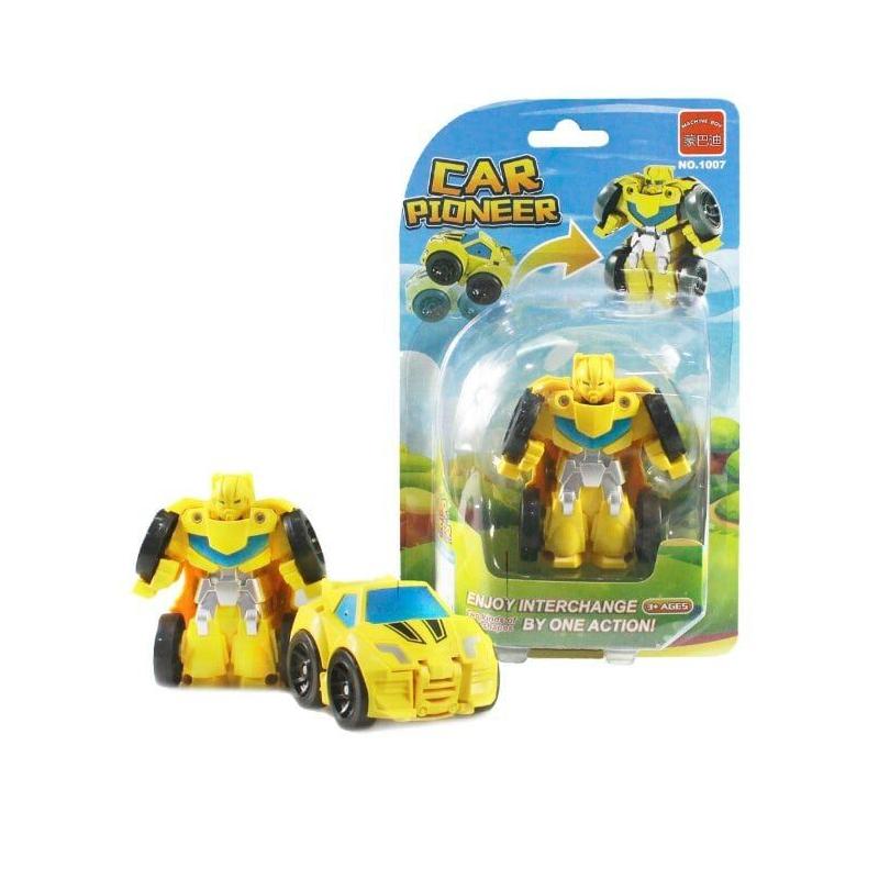 """Машинка """"Мини  робот"""" (желтый) 1007 купить в магазине """"Пустун"""""""