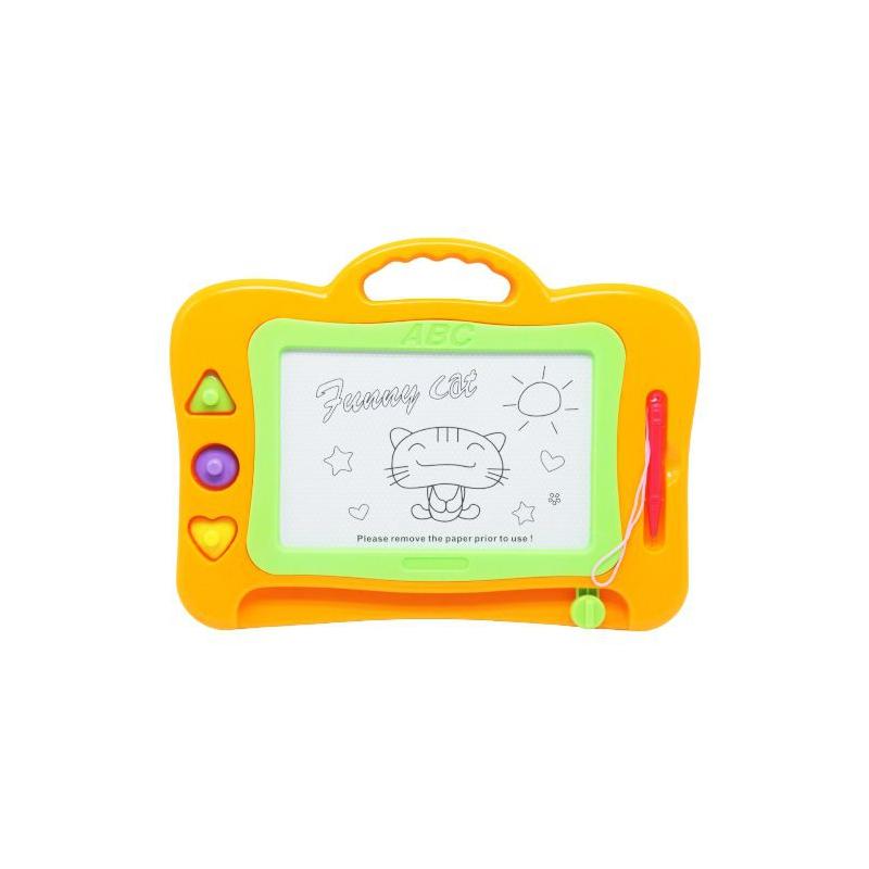 """Детская доска для рисования, оранжевый MY115131 купить в магазине """"Пустун"""""""